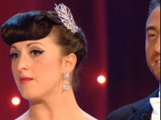 Natalie Cassidy wore The Moulin Comb on Strictly Come Dancing